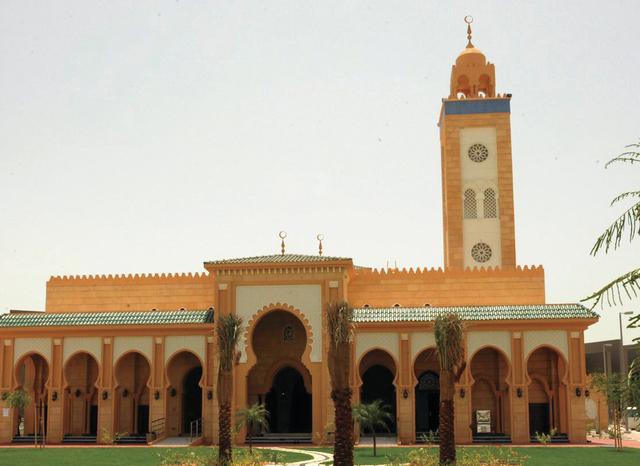 صورة لسجد حمدان بن محمد بن خليفة بالإمارات.