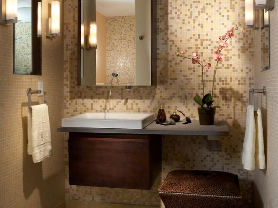 صورة لحمام من الداخل